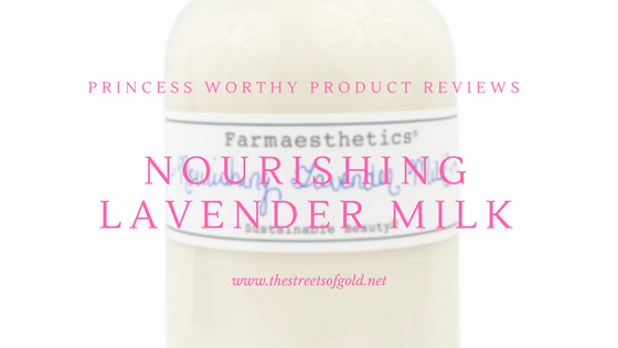 Farmaesthetics Nourishing Lavender Milk Review
