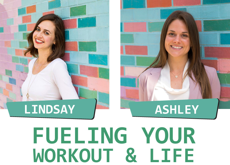 "Say ""Hello"" to Lindsay Krasna & Ashley Perrone — who will be speaking about how to fuel your active lifestyle    #EvolveWithUs"