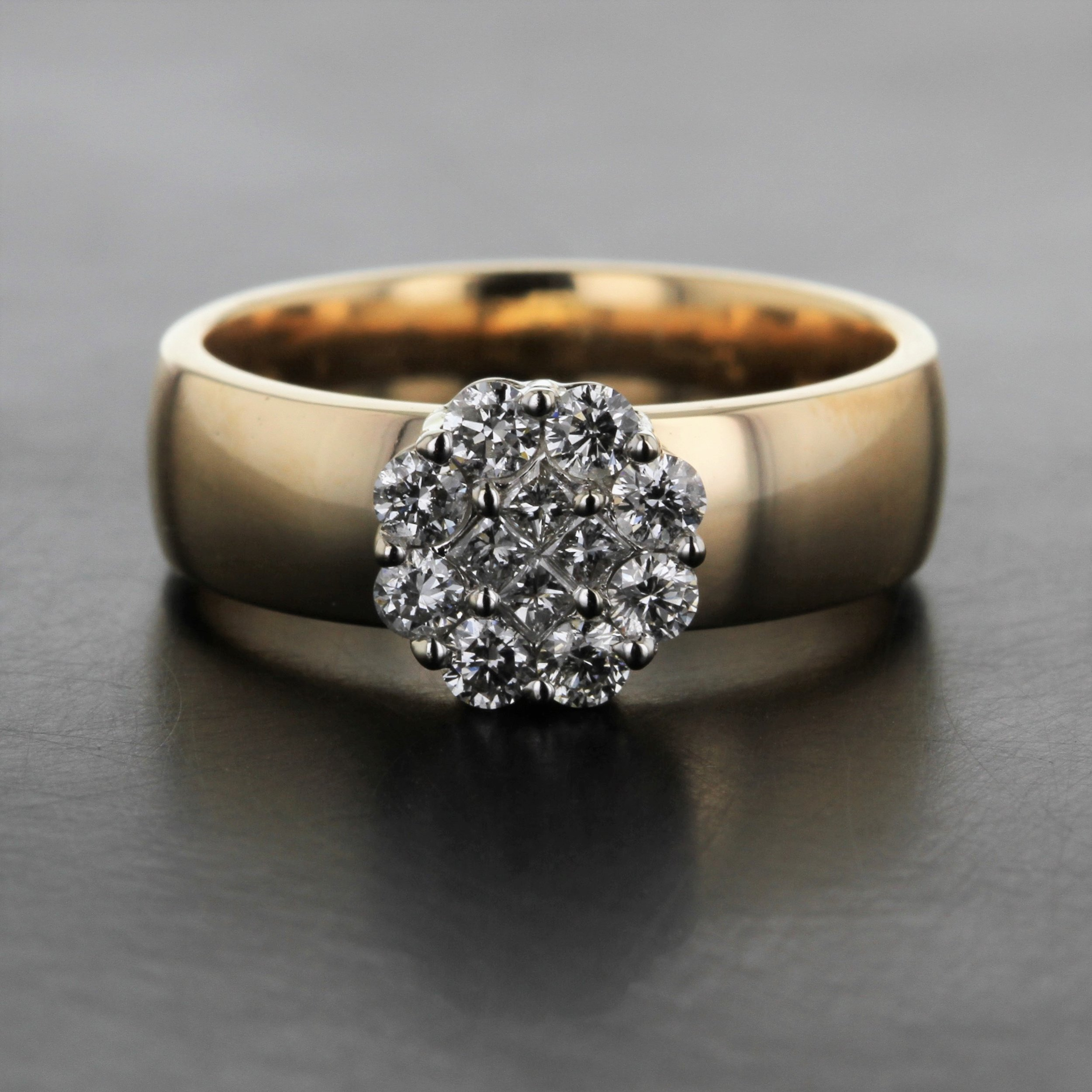 cluster-diamond-recycled-wide-band-yellow-gold-custom-ring.jpg
