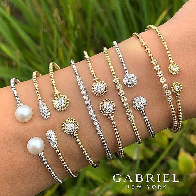 Winter is over! That means it is time to layer up with a different type of fashion. Shop @gabrielandco bracelets at our store today!
