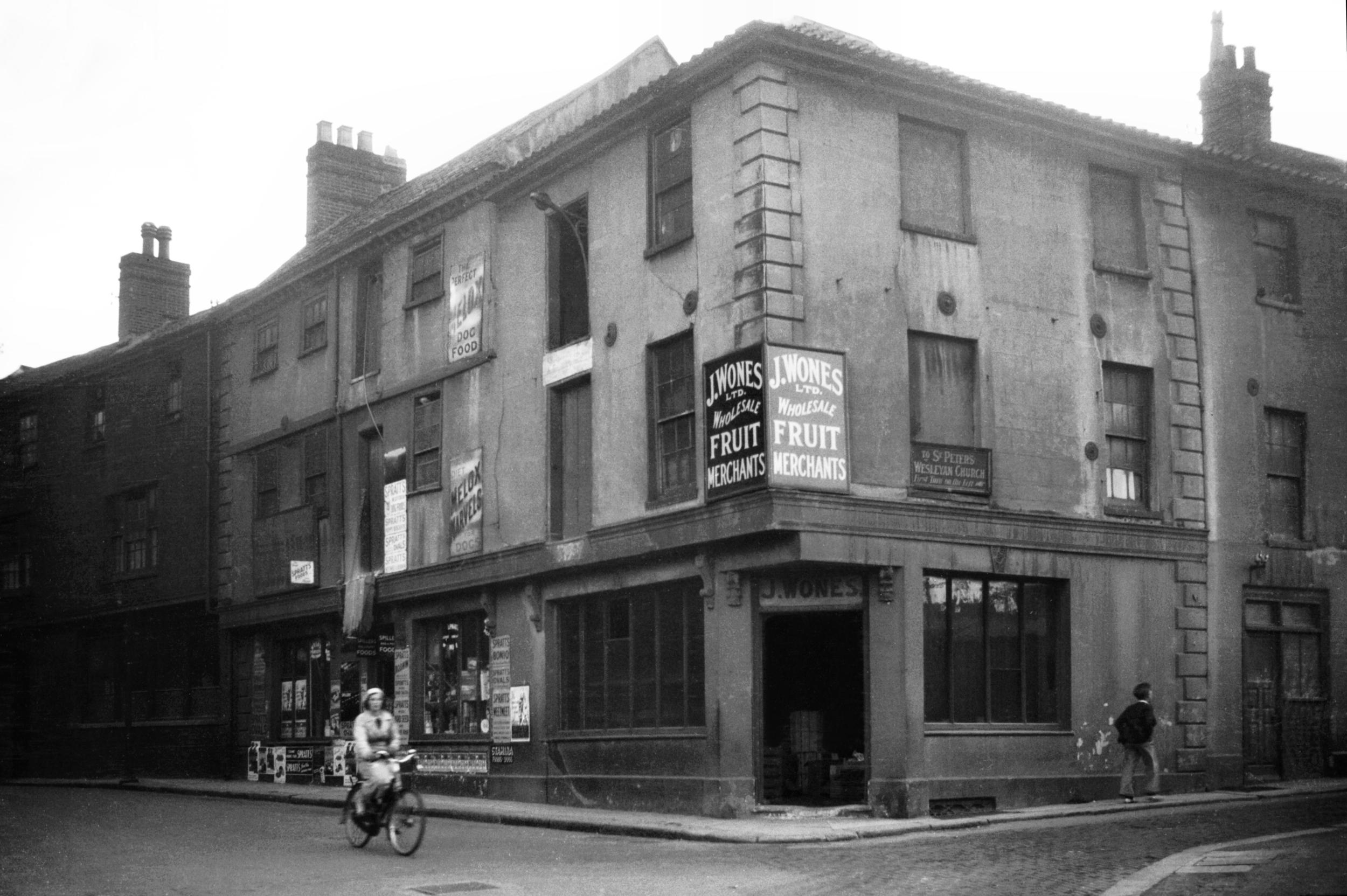 Bethel St and St Peters St 1936