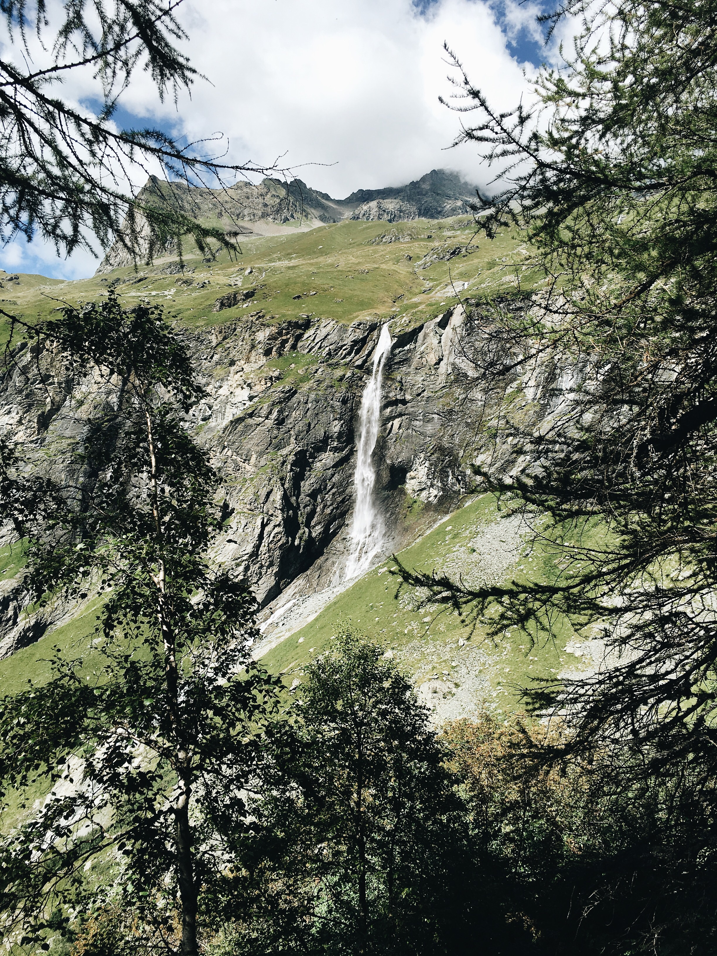 Entering the stunning Vanoise National Park