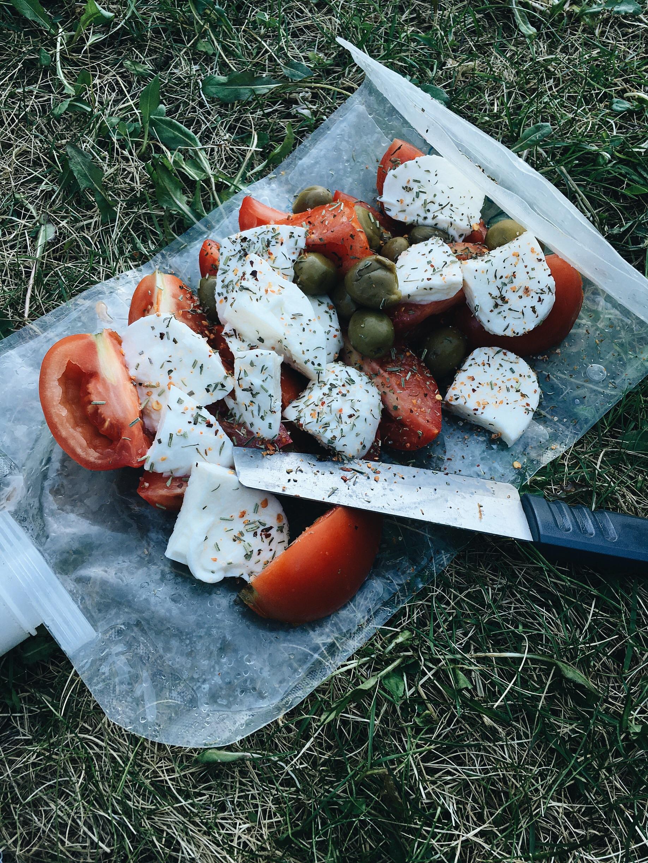Platypus salad platter!