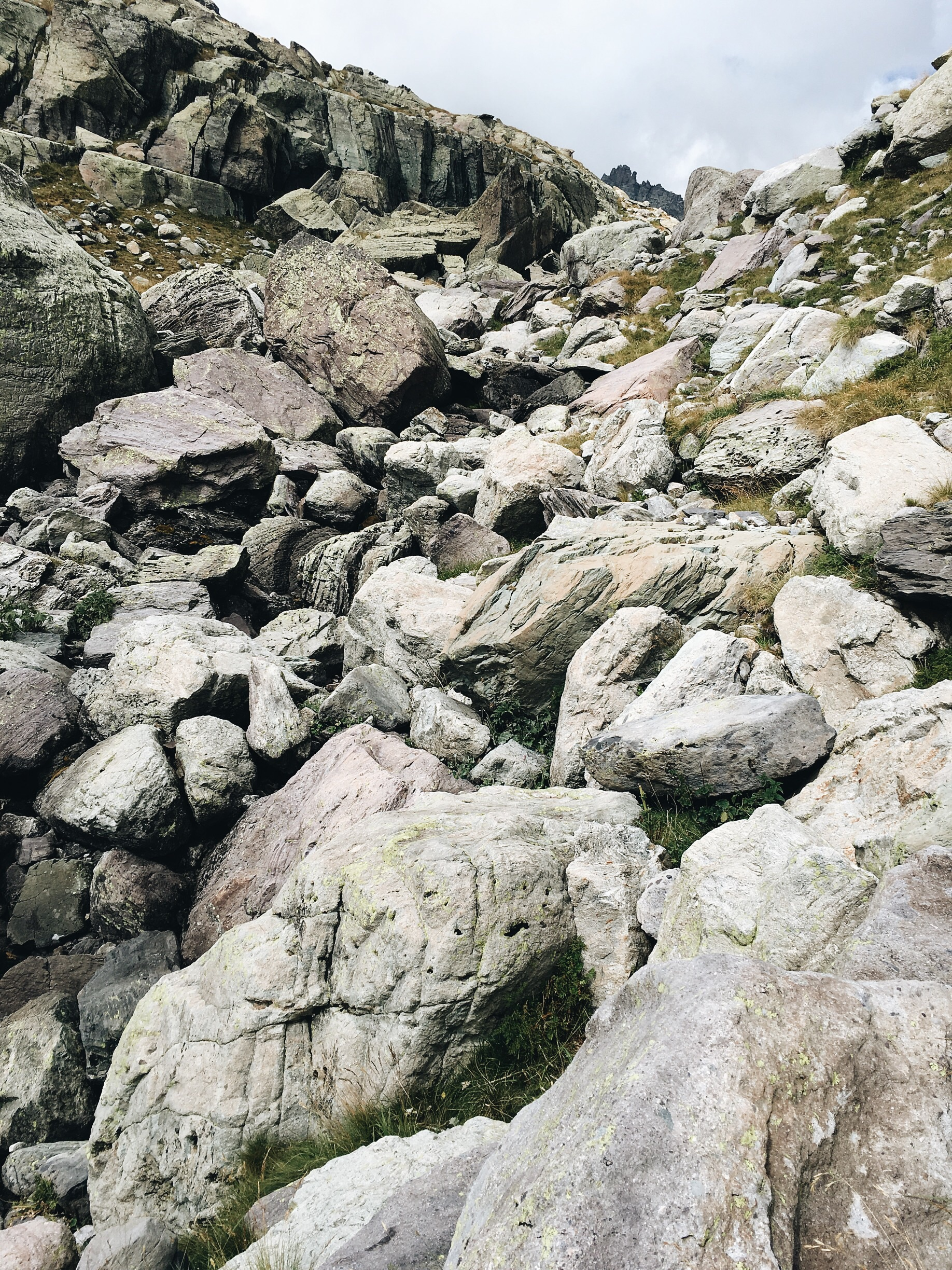 Another huge boulder field to cross.