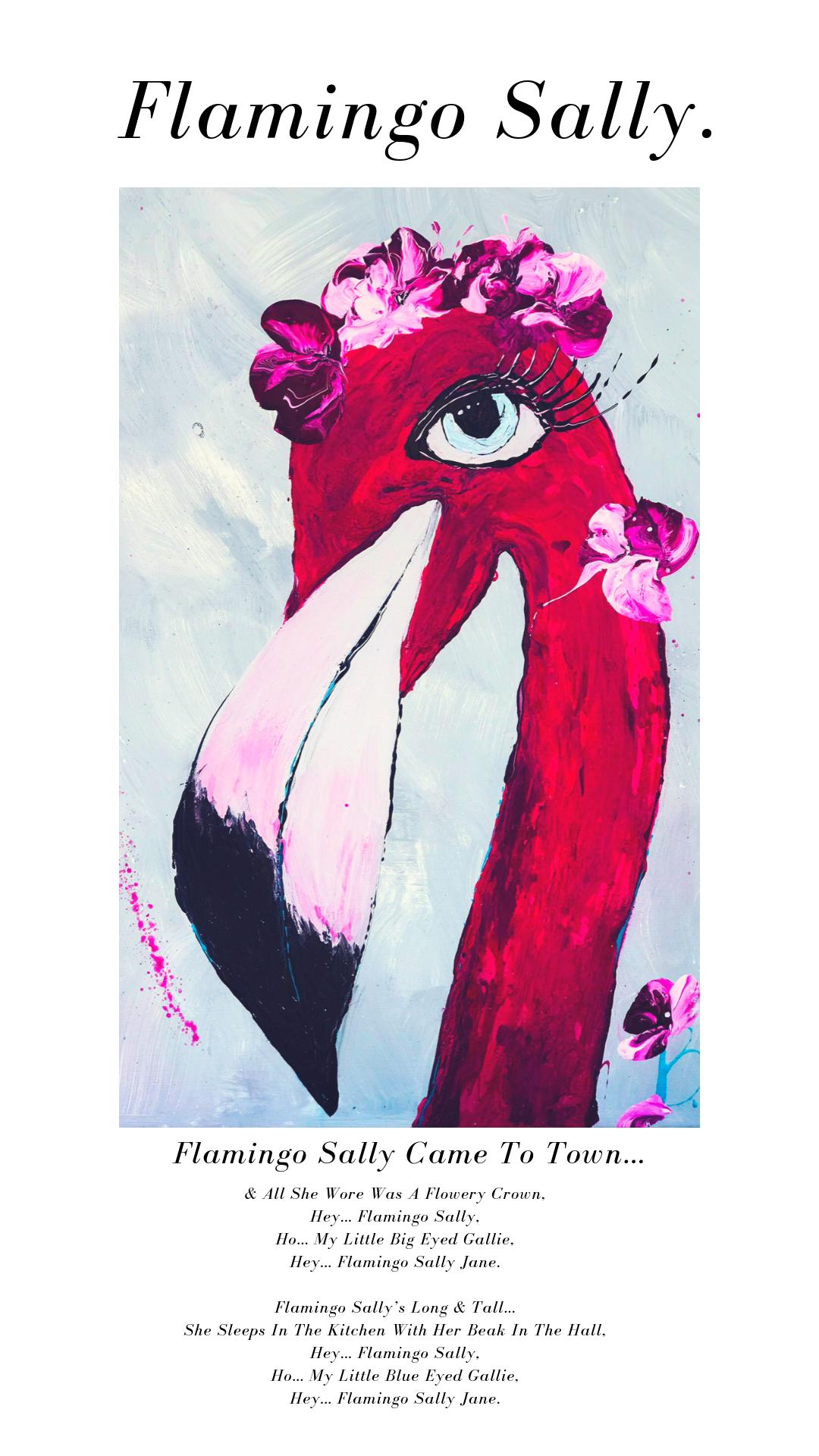 Flamingo Sally.