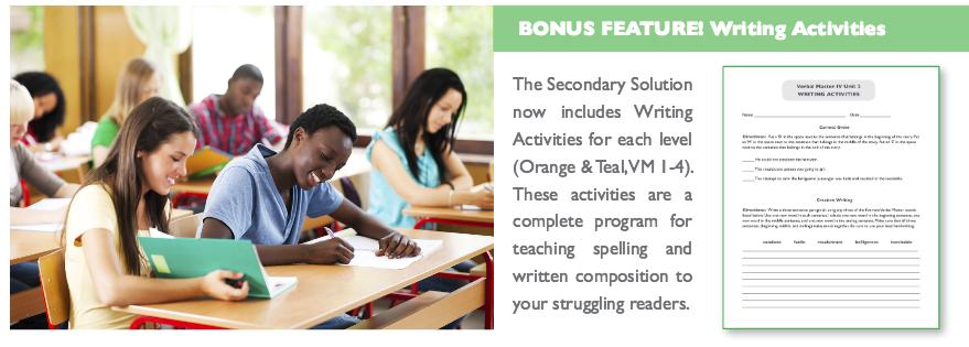 Bonus Feature: Writing Activities