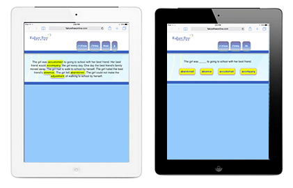 Access Failure Free Reading from all* your smart devices! Perfect for in the classroom, at home, or on the go!
