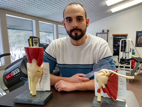 """""""Because of the CTE program, I was able to find a career that suited my skills and my personality, and it was the beginning of my career as a physical therapist.""""  - Derick Roland"""