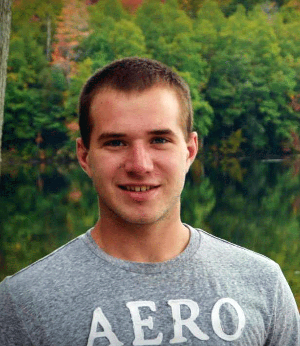 """""""Because of CTE, I'm on track to pursuing my career in construction.""""    - Blake Roggow"""