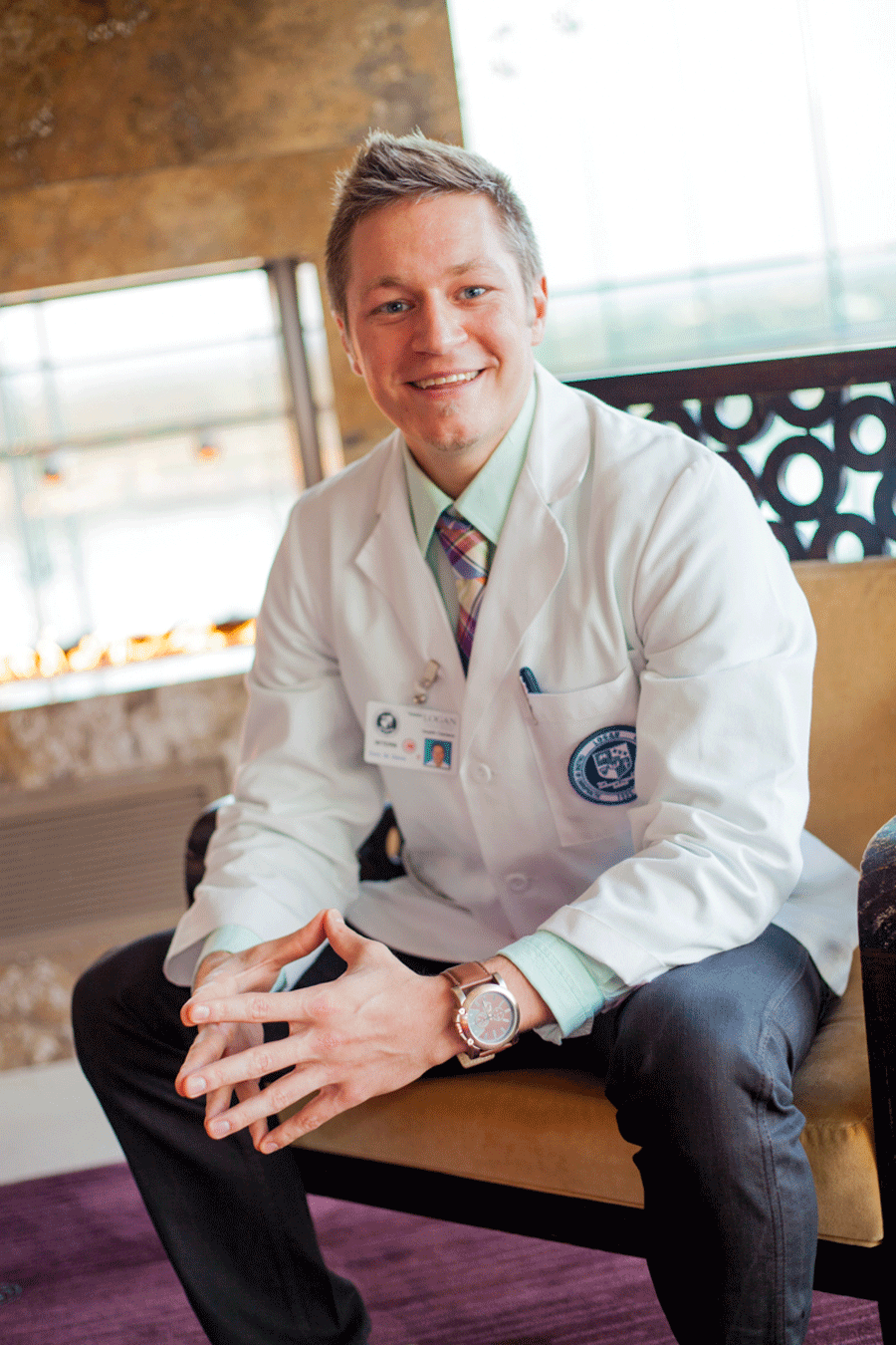 """Because of CTE, I became a doctor. Because of CTE, I am helping families.""  - Dr. Cory St. Denis"