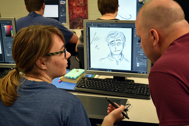 In Digital Media, artists discover new ways to hone their craft.
