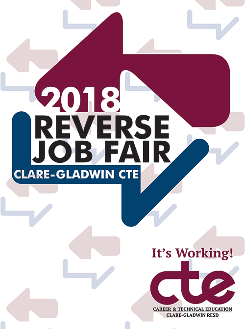 What's a Reverse Job Fair? Who's involved? Check out the program from today's event for all the info.
