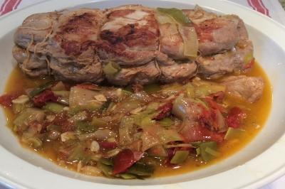 Pork à la provencale