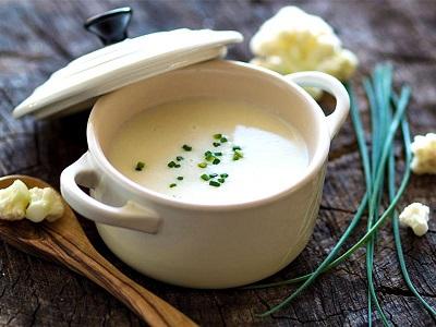 Cauliflower Curry Velouté