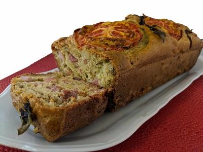 Olives-Tomato-Cake