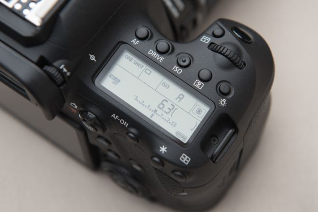 The marker in the middle of the exposure value scale is set to 0, which indicates that the aperture and shutter speed should provide an appropriate exposure based on the metering pattern in use. As you adjust exposure compensation, this marker moves either left or right, depending on whether you've chosen to apply positive or negative exposure compensation