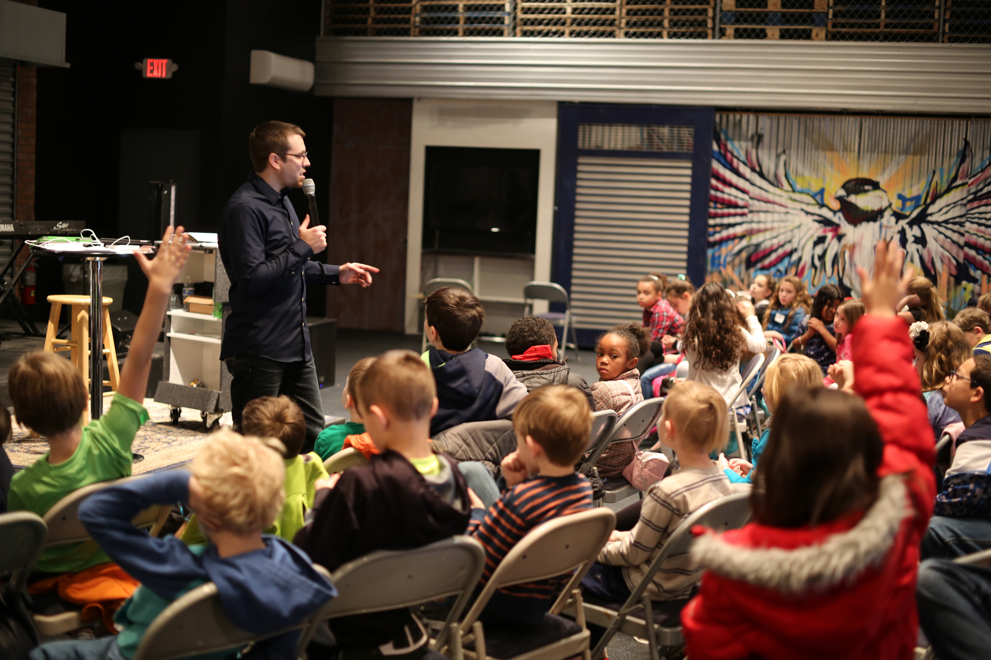 """<p><strong>KIDS</strong>Impact Kids Ministry<a href=""""/impact"""">More →</a></p>"""