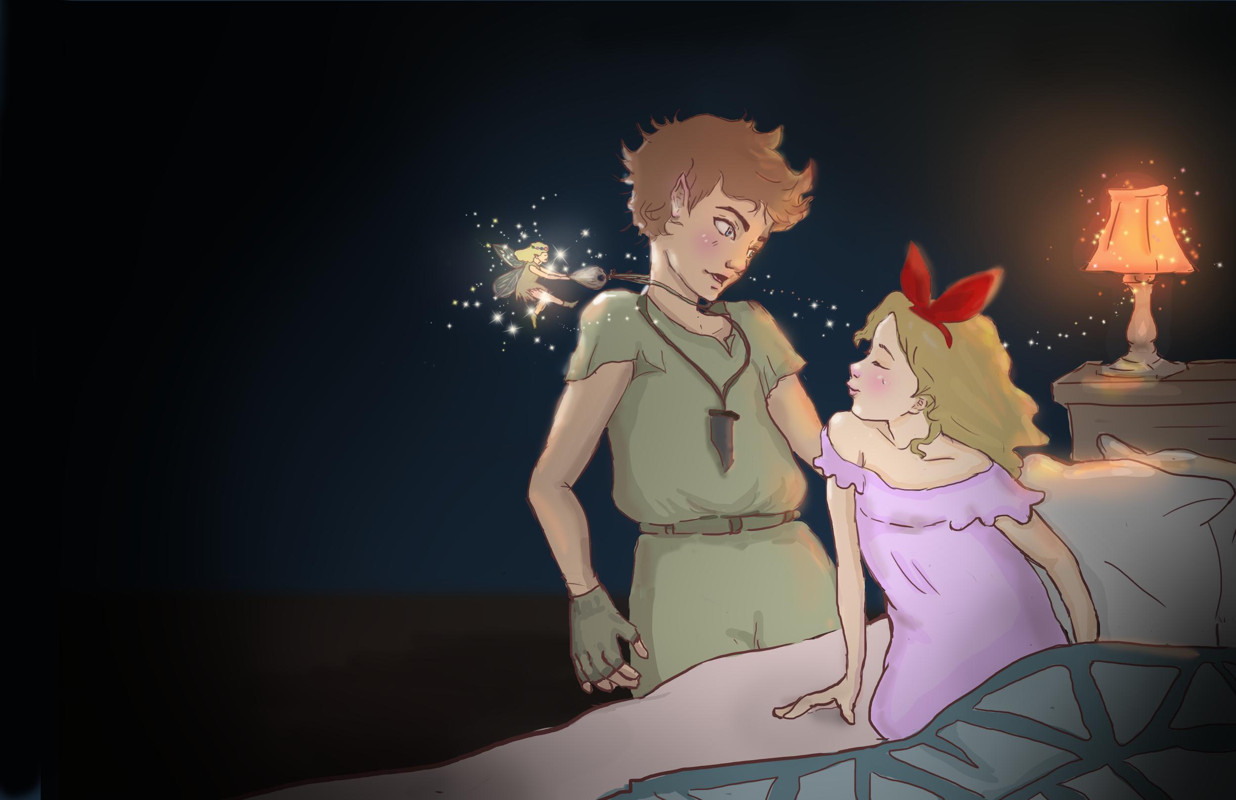Peter Pan & Wendy | Double Spread