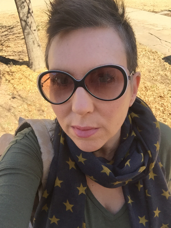 Headed to Red Cup for some vegan breakfast goodness, a big fat cold brew and to use my Saturday wisely...being boss (wearing my Chevron Ear Climbers and Sterling Ear Cuff)!