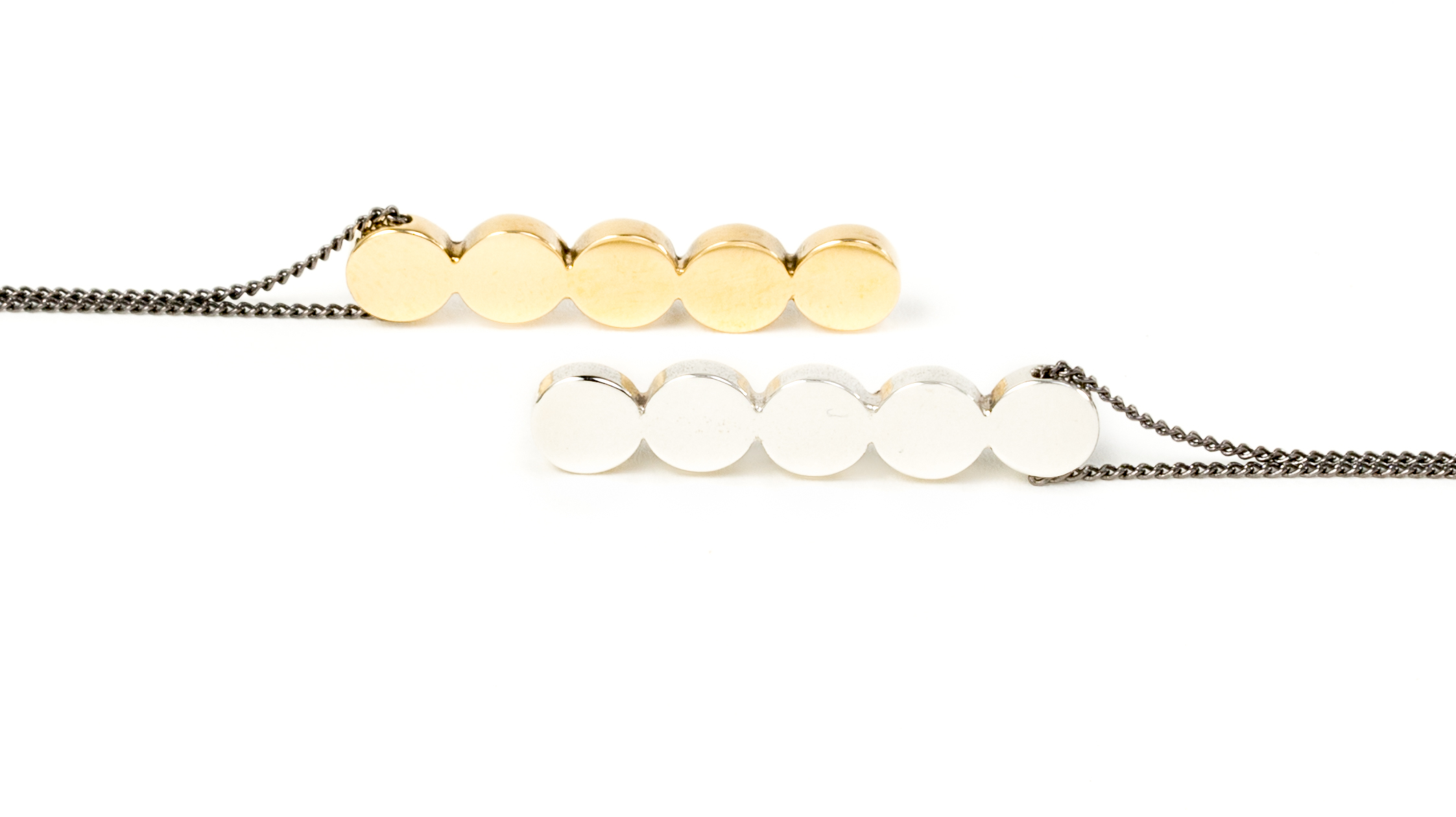 Circle Stack Necklace