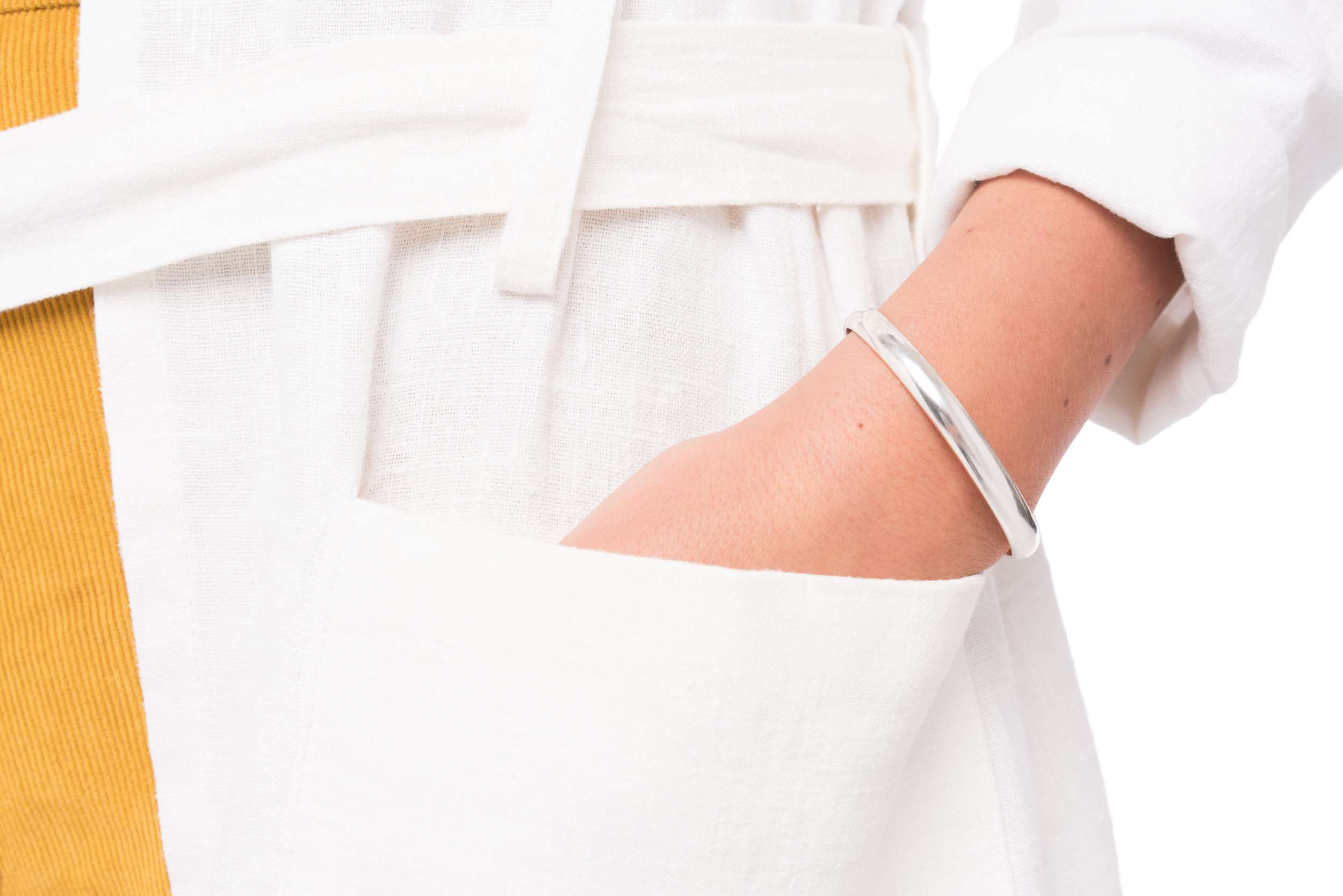 The Classic Cuff in Silver