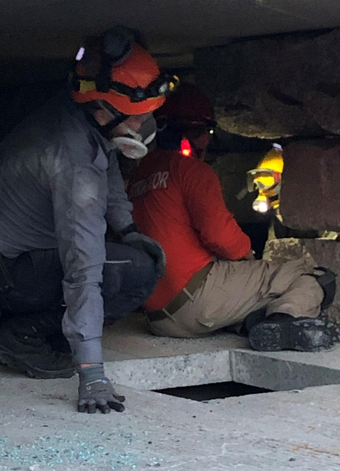 Reaching, assessing and treating injured victims in confined spaces adds significantly to the realism and effectiveness of the training.