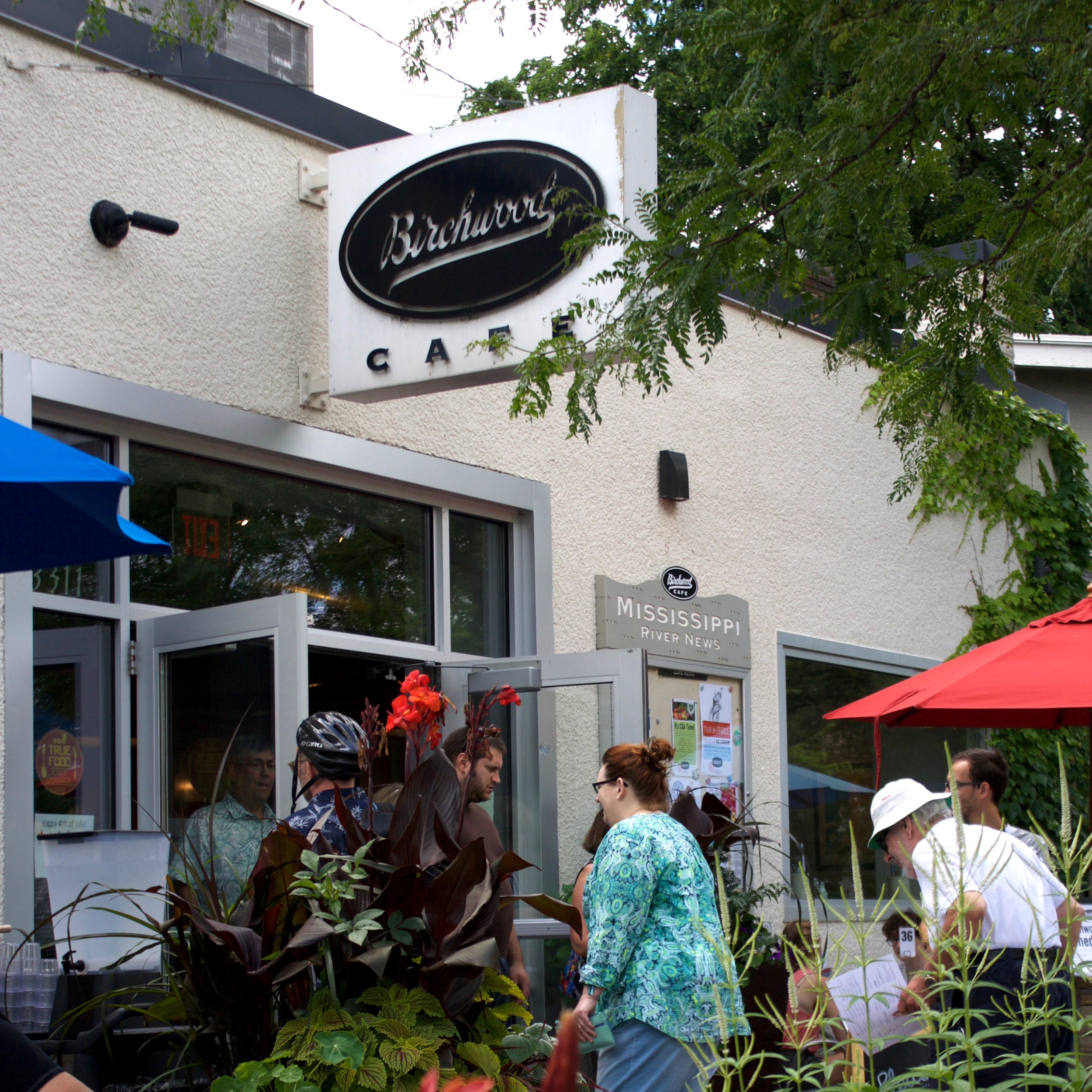 Birchwood Cafe opened in 1995 as a farm-to-table restaurant without realizing it. Photo by Anne Lies
