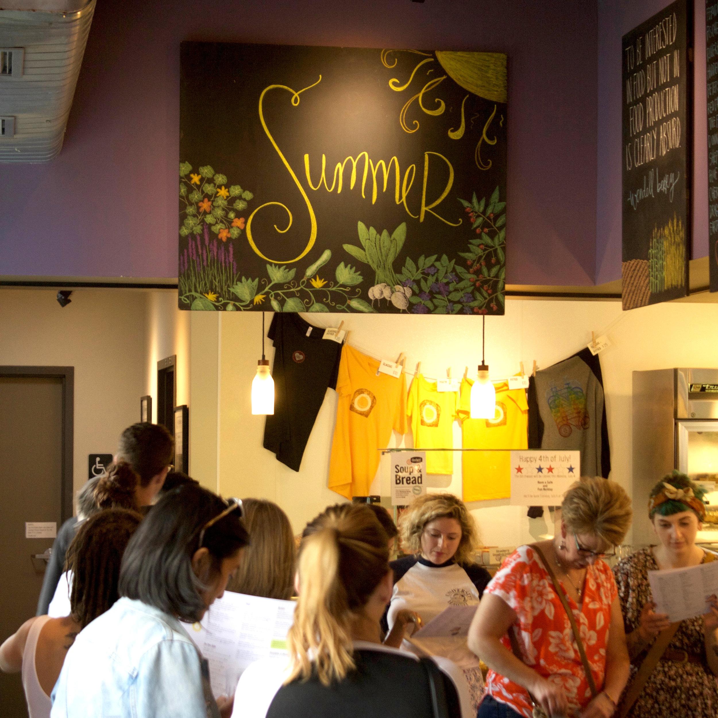 One of Birchwood's eight seasonal menus is summer. Photo by Anne Lies