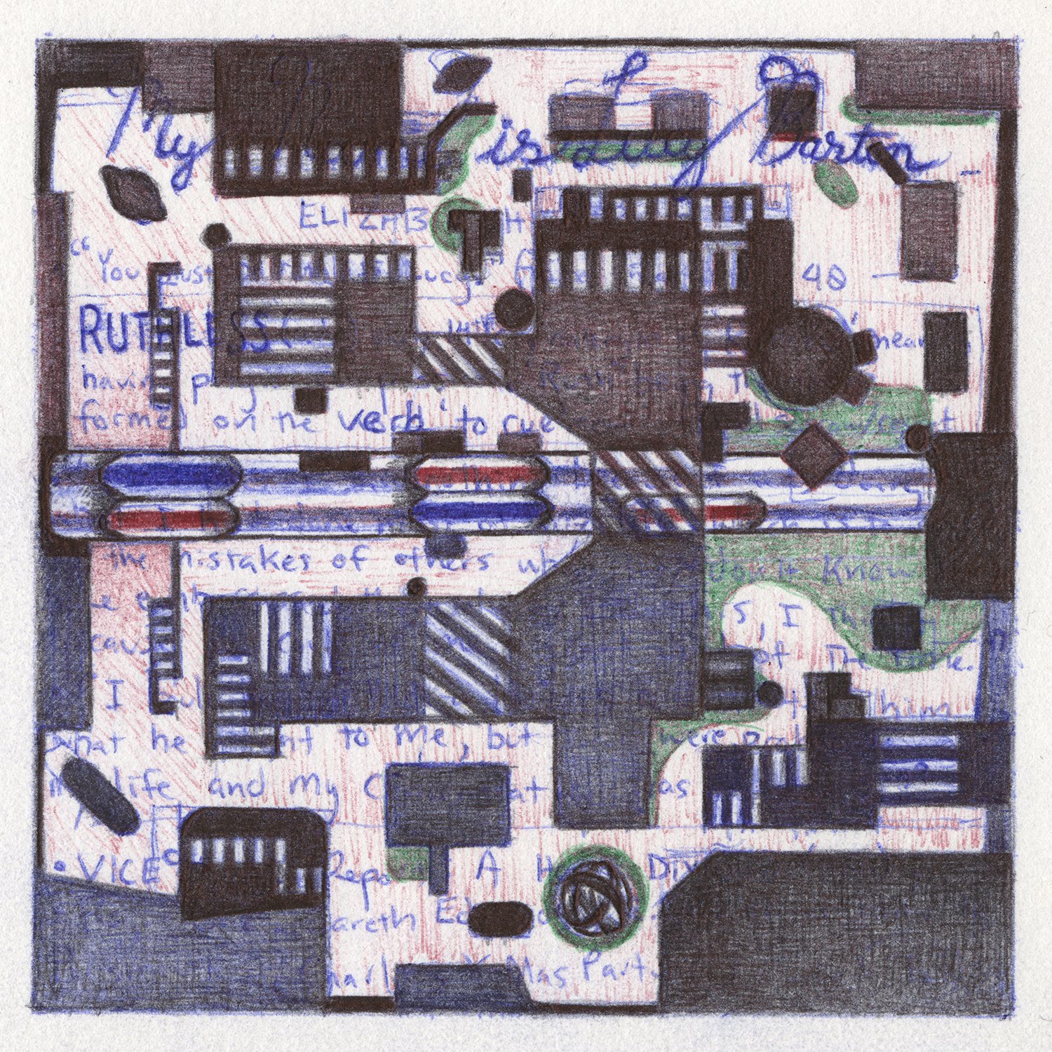 Quilt Square _ 43 (Throwback)