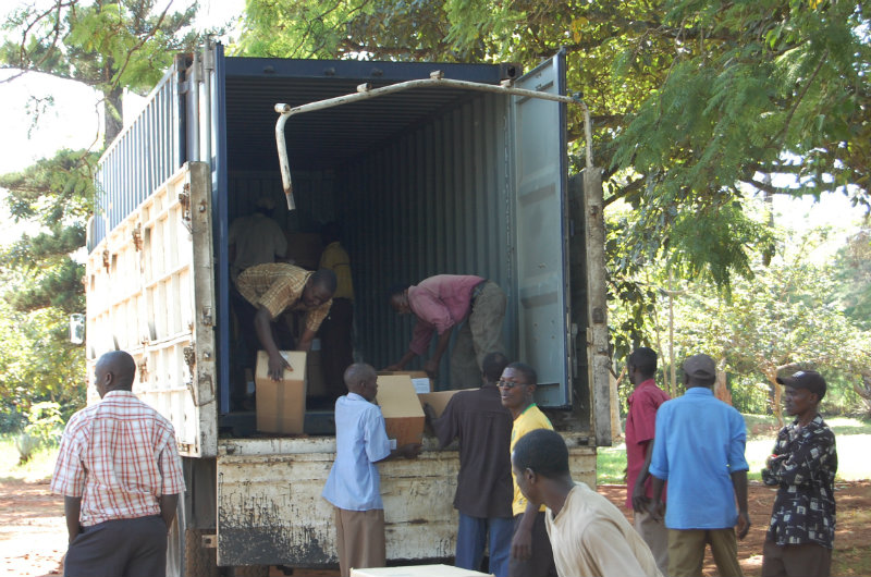 1-Unloading the container.jpg