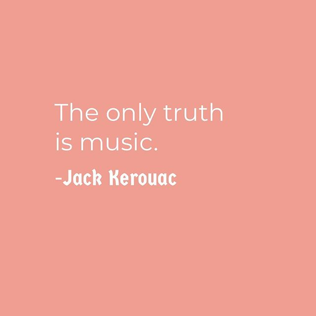 | MUSIC IS TRUTH | • Music can articulate so many truths, feelings and emotions. • • Quote by: Jack Kerouac • American writer best known for the novel On the Road, which became an American classic, pioneering the Beat Generation in the 1950s. • • • #InfernoCPD #ChicagoParks #InfernoDocTeam #mediamakers #art #digitalmedia #media #InfernoManifesto #summer #music #kids #ChicagoParkKids #children #summercamp #MyChiParks #Chicago #quoteoftheday #jackkerouac