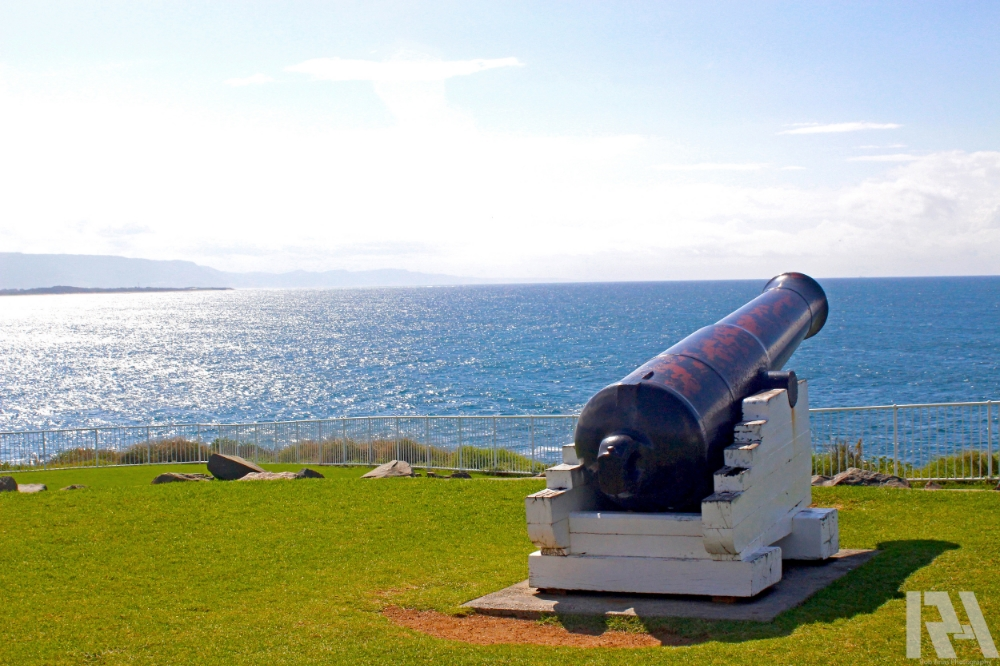 Cannon on the Beach