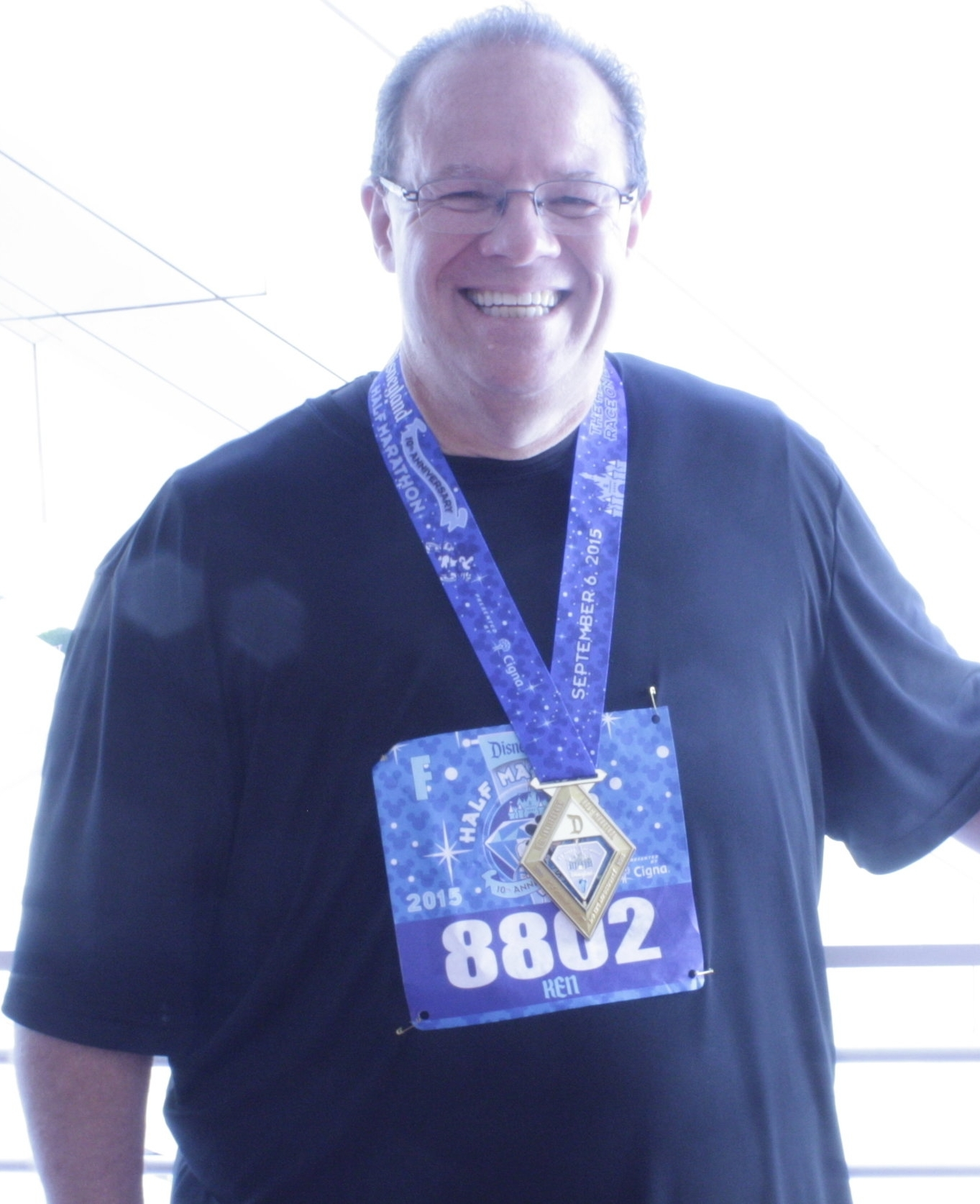 Having Lost 150+ Lbs - And run (most of) his first Half Marathon. Injury Prevented FInishing.