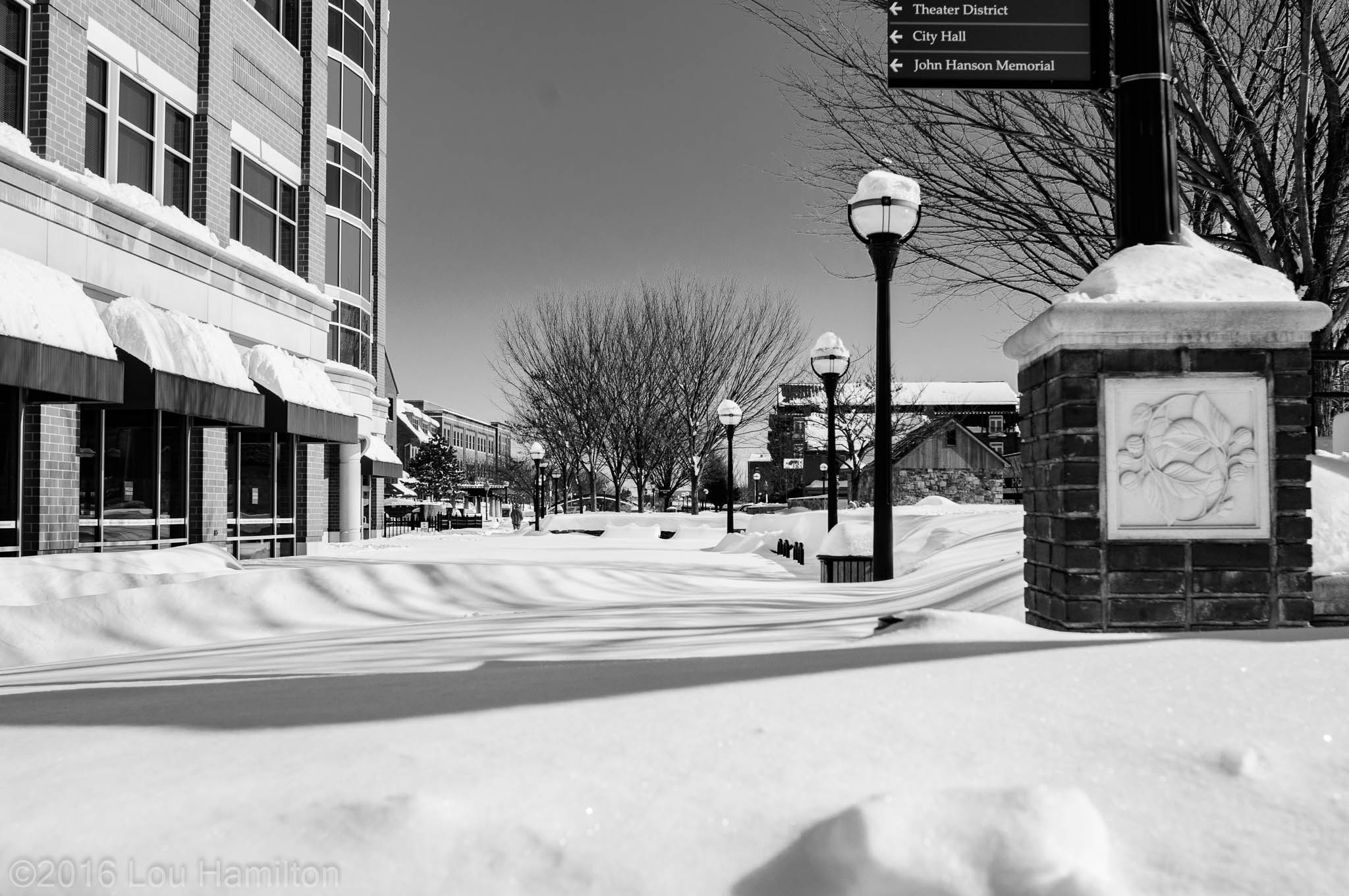 24 January 2016 -- Frederick, MD (Court Street)