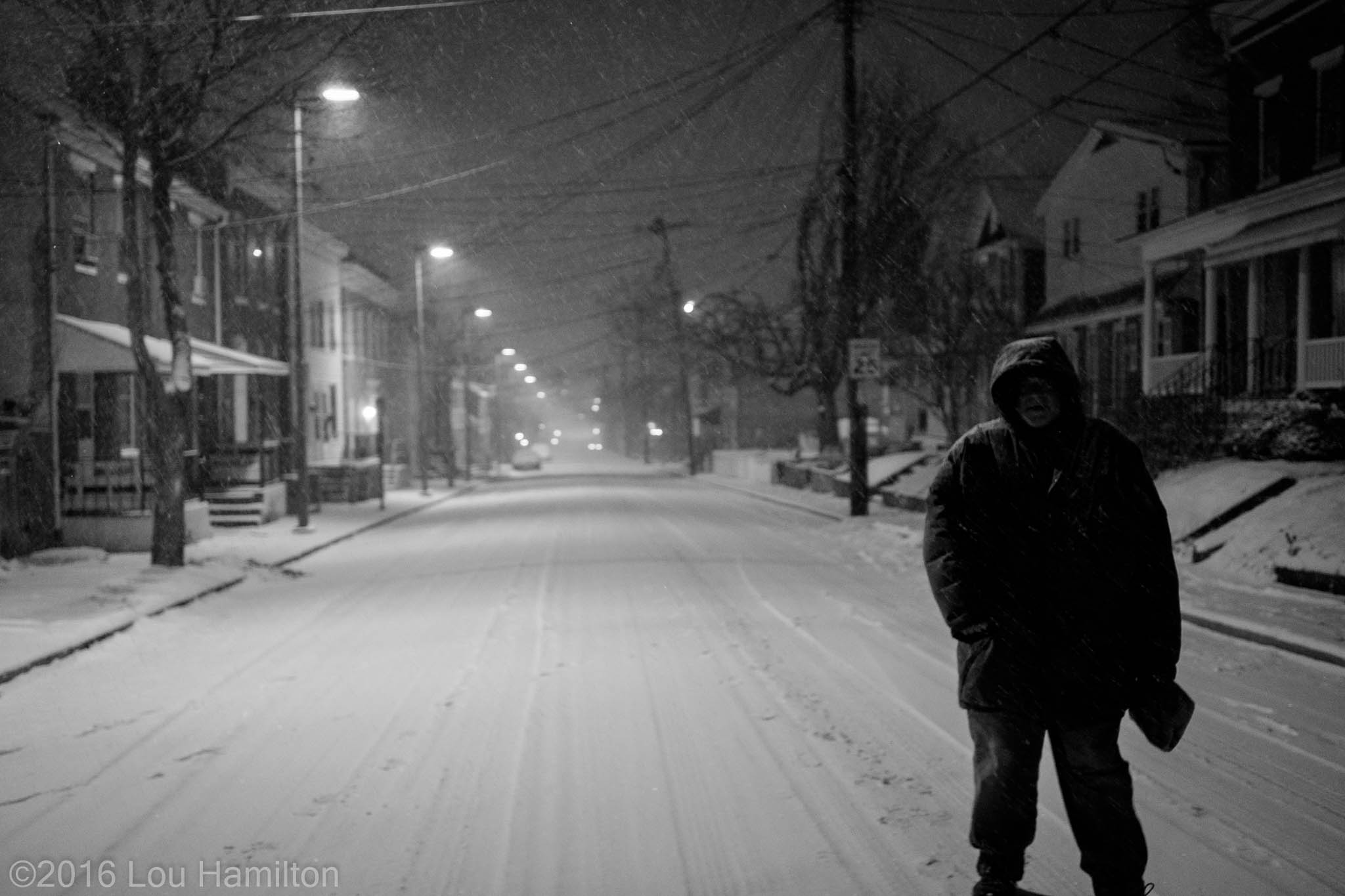 22 January 2016 -- Downtown Frederick, MD (Bentz and All Saints Streets)