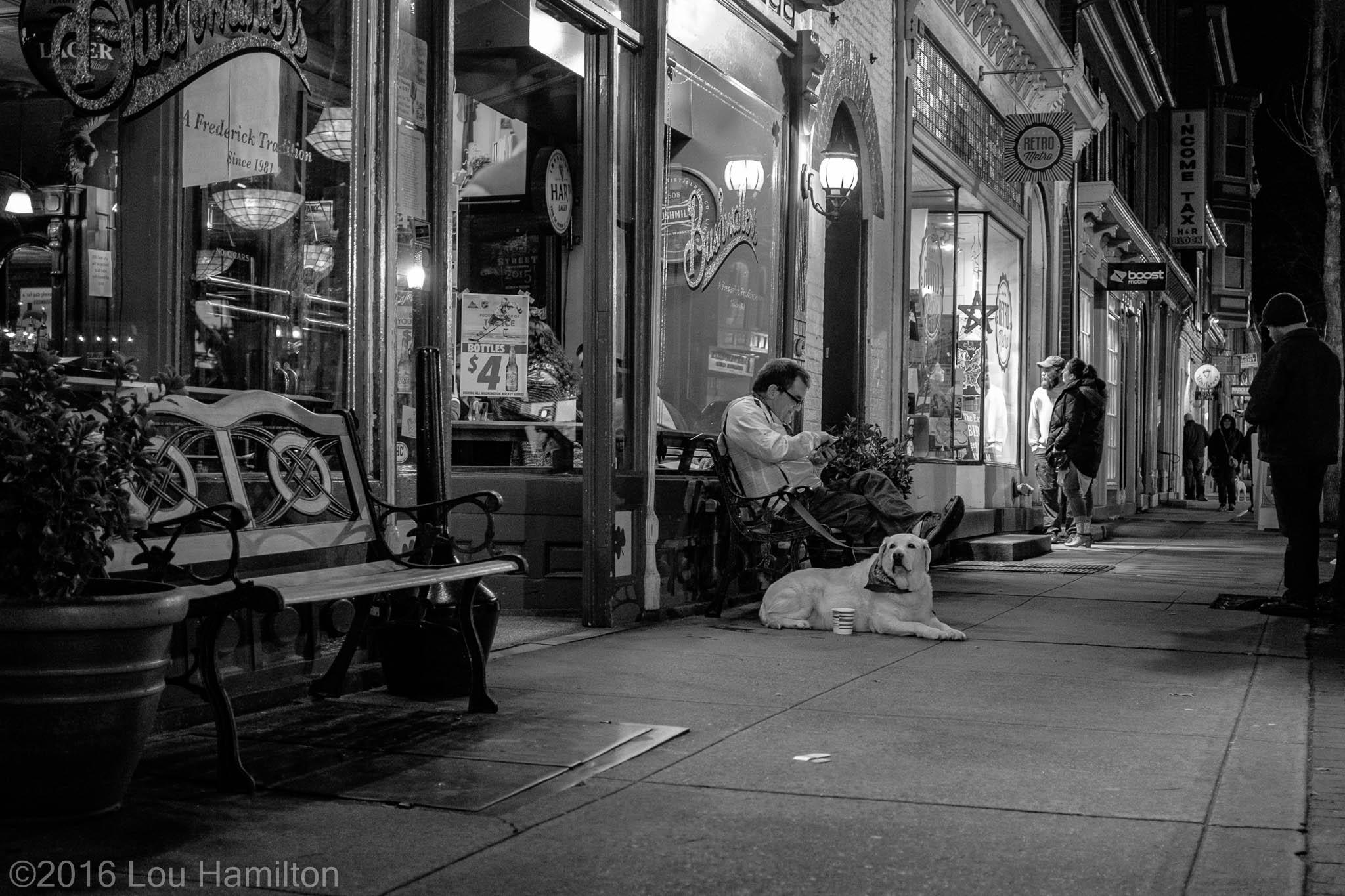 16 January 2016 -- Downtown Frederick, MD (Market Street)