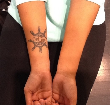 This client had tattoos of the same size and color on both arms,