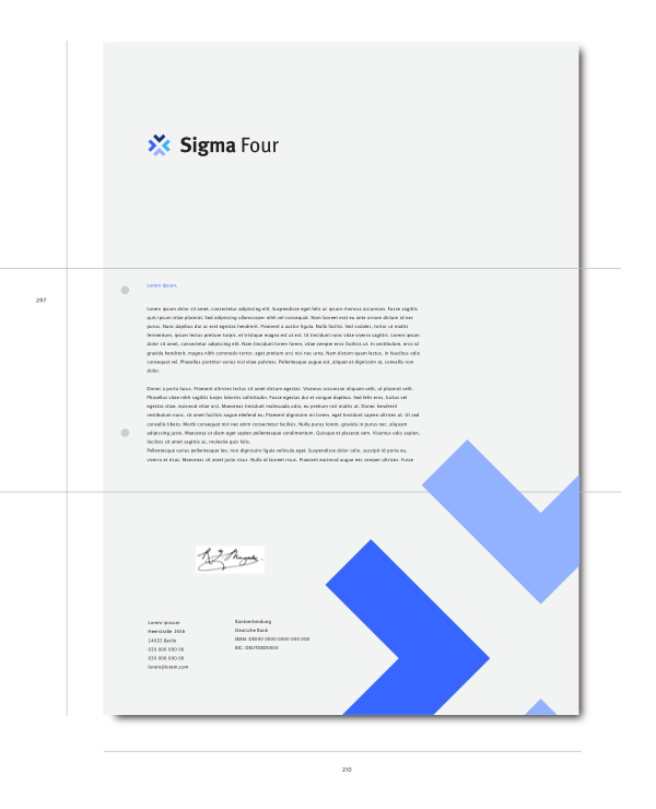 Sigma Four Letter