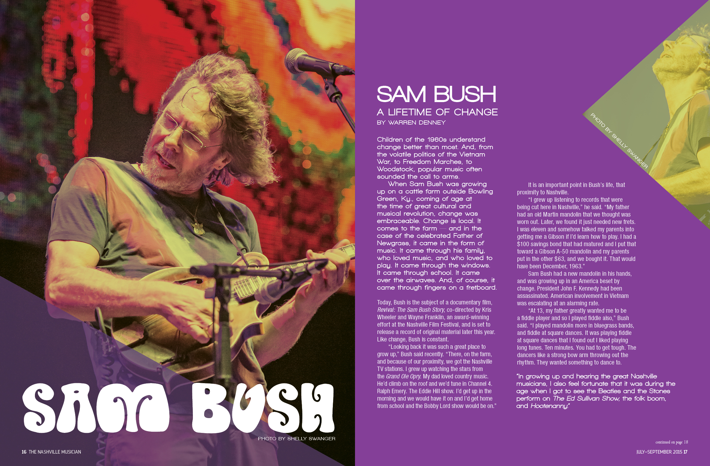 Sam Bush | Lisa Dunn Design