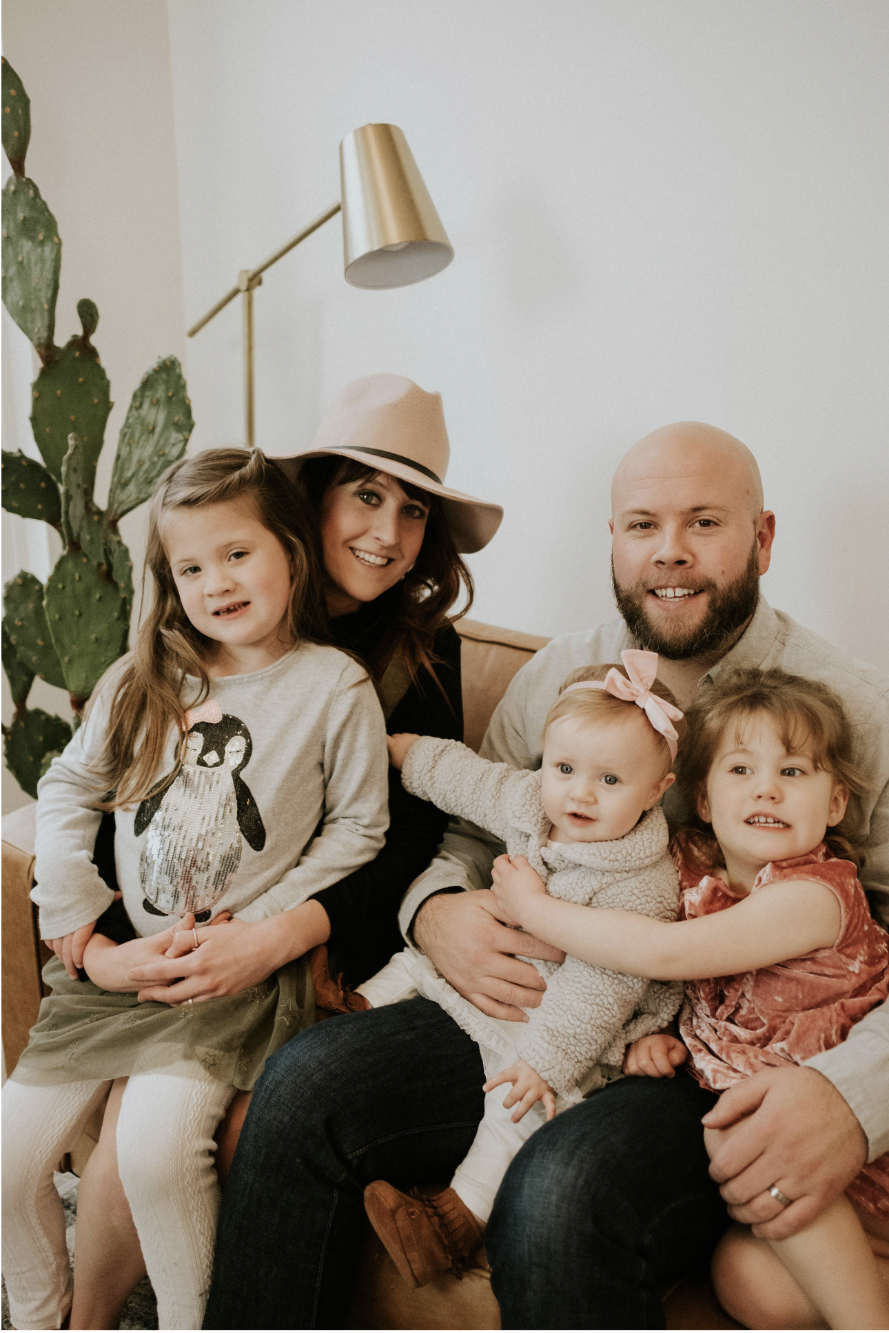 Meet Rob & Kierstyn Ryerson - Rob & Kierstyn have 3 children, Rose (6 years old), Clover (4 years old) and Lily (14 months old). Kierstyn received her teaching credentials from Fresno Pacific University. She had planned to be a missionary overseas. Somehow Rob convinced her to follow him here in the US. They are big Disney fans and enjoy a good dinner without kids. Over the years Rob has converted his family to the dark side as they bleed Patriot colors. If Rob wasn't a Pastor he'd love to be a general manger of a sports team. Kierstyn would likely travel the world. Their daughter Rose has high aspirations of some day being a snake trainer in Australia. Clover is set on being a superhero, preferably Bat Woman. Lily really just wants to be wherever Mom is.