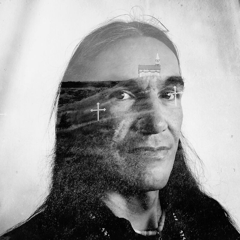 """Daniella Zalcman received the 2016 Inge Morath Award for """"Signs of Your Identity,"""" a series of multiple exposure portraits showing survivors of Canada's Indian Residential Schools still fighting to overcome the trauma of their experiences."""