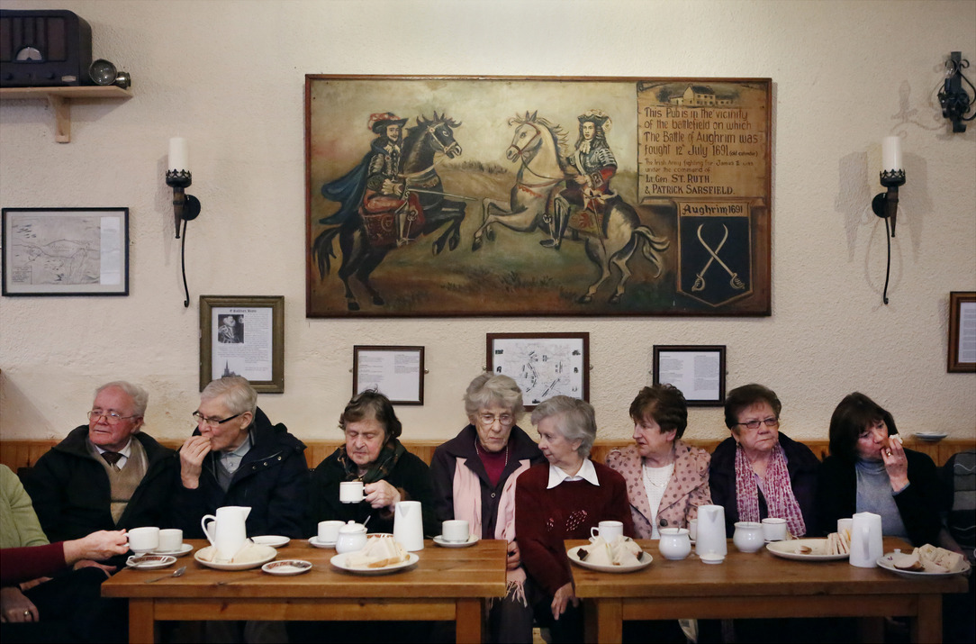 The Aughrim Active Retirement Group, part of the Lifecourse Institute program at NUI Galway. © Paul Seawright