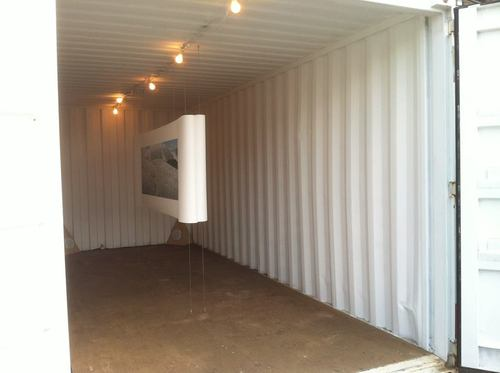 The interior of Traces at Photoville. Photograph by Kiersten Nash of Public Works Collaborative.
