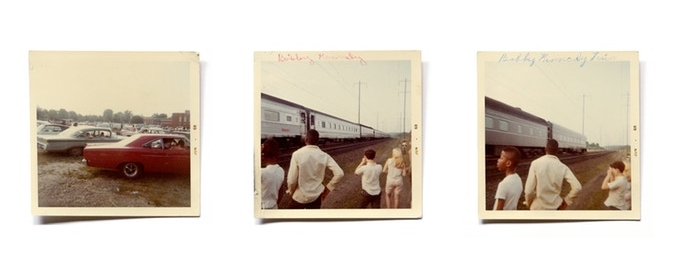 Annie Ingram, from Rein Jelle Terpstra's  Robert F. Kennedy Funeral Train - The People's View.