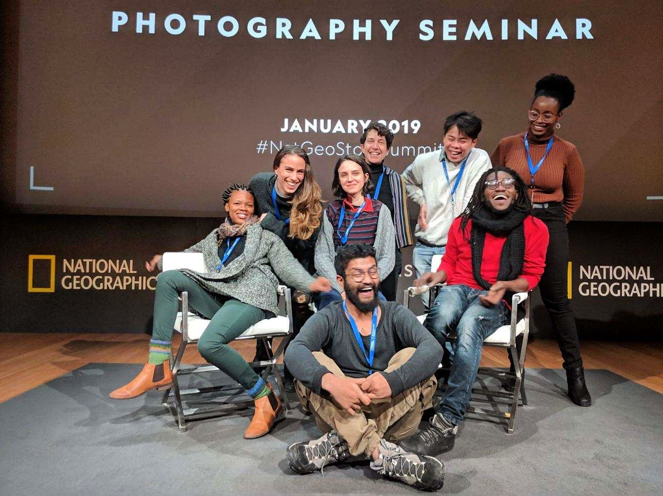 Fellows at the National Geographic Summit
