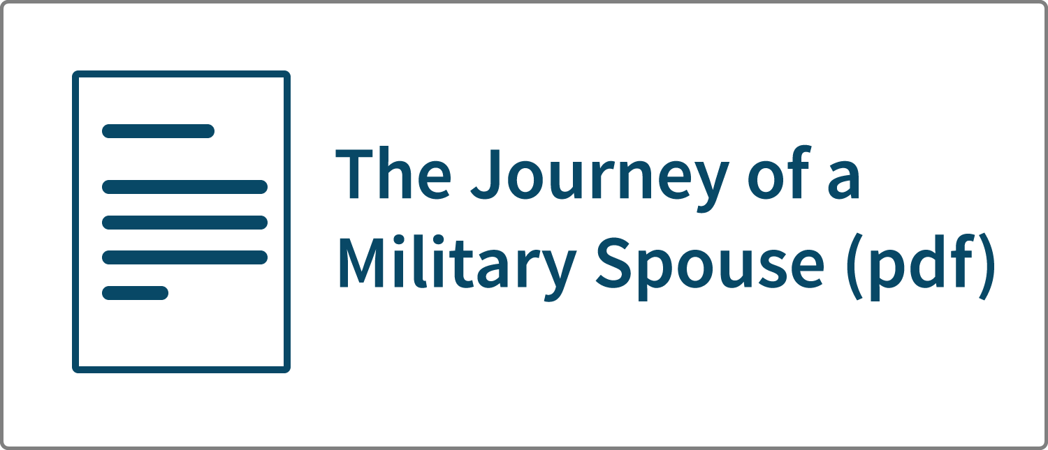 The Journey of a Military Spouse (pdf)