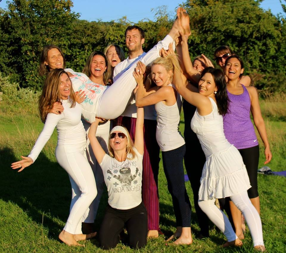 """Enlightened Living Retreat"" with Evolve Wellness Centre at the Quadrangle Trust in Kent, UK 2015"