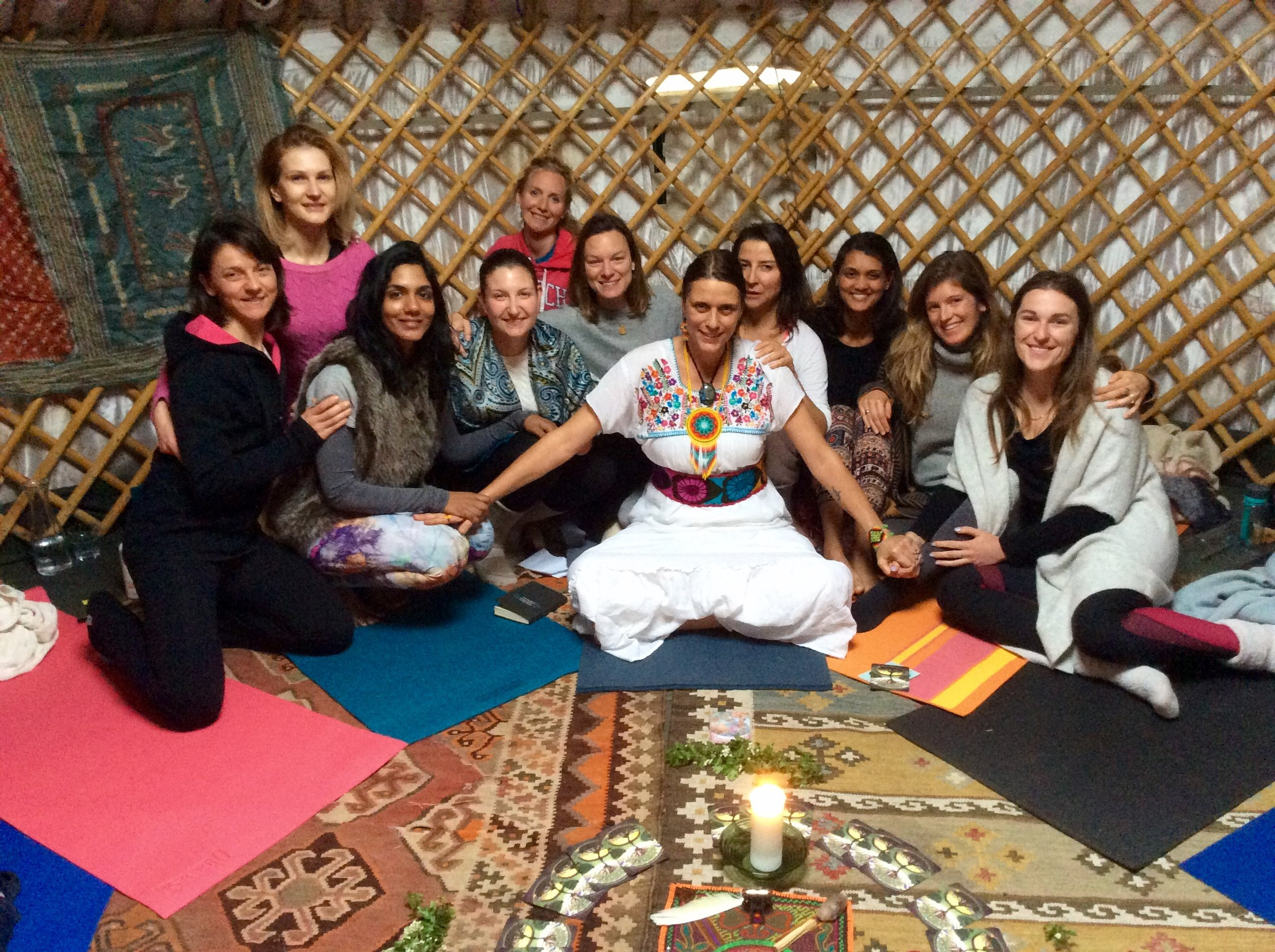 """Earth Magic Retreat"" with Evolve Wellness Centre at the Quadrangle Trust in Kent, UK 2017"