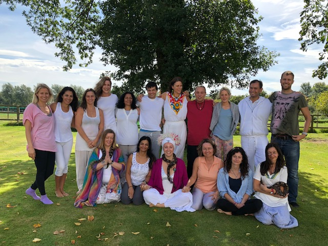 "Maren and Kwali at the Inner Guidance Retreat Centre in Suffolk, UK 2018 - ""From Fear To Love"" Retreat"