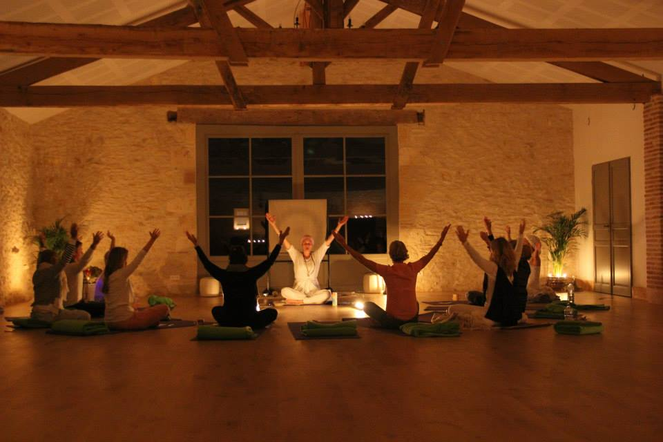 """Nurturing Your Self Retreat"" at La Balie in France 2014"